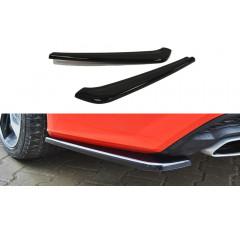 Комплект сплиттеров задних Audi A7 S-Line Рестайл