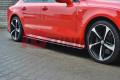 Накладки на пороги Audi A7 S-Line Рестайл