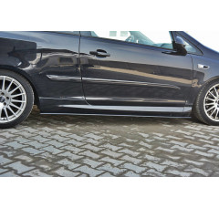 Накладки на пороги Opel Corsa D OPC/VXR