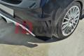 Комплект сплиттеров задних Opel Corsa D OPC/VXR