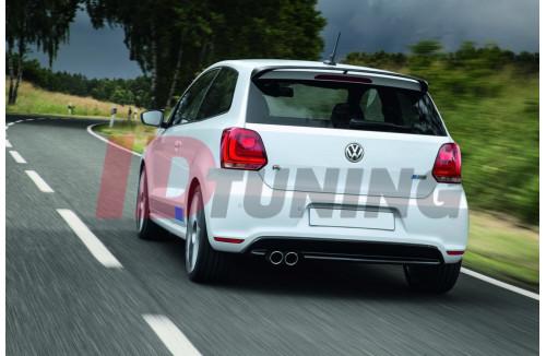 Спойлер Volkswagen Polo MK5 (R WRC look)