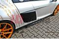 Накладки на пороги Audi R8 2006-2015