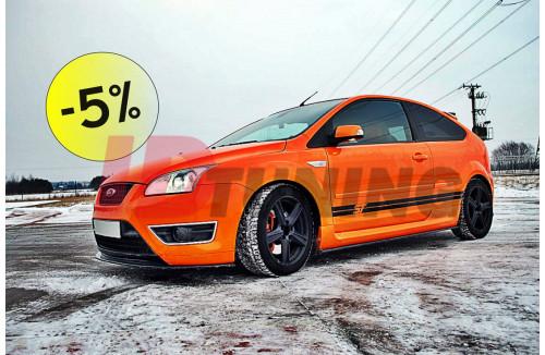 Комплект сплиттеров -5% Ford Focus II ST Дорестайл
