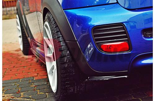 Комплект сплиттеров задних Mini Cooper R56 JCW