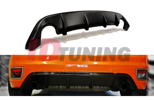 Накладка на задний бампер Ford Focus MK2 ST Дорестайл