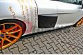 Накладки на пороги с диффузорами Audi R8 2006-2015