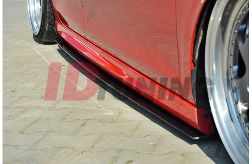Накладки на пороги гоночные Volkswagen Golf VI GTI 35TH/R20