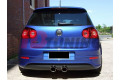 Накладка на задний бампер Volkswagen Golf V R32 with 2 exhaust holes (for R32 exhaust)