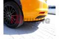 Комплект сплиттеров задних Ford Focus MK3 ST Дорестайл
