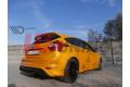 Накладка на задний бампер Ford Focus MK3 ST Дорестайл (RS 2015 look)