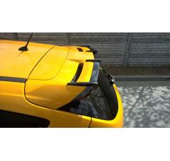 Накладки на спойлер на крышу Ford Focus MK3 в грунте