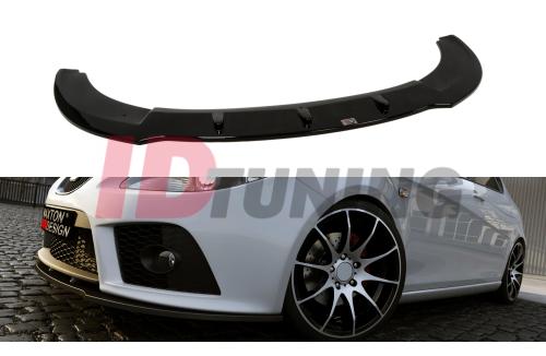 Сплиттер передний Seat Leon MK2 Cupra FR Дорестайл