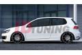 Накладки на пороги Volkswagen Golf VI GTI 35TH/R20