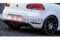 Комплект сплиттеров задних Volkswagen Golf VI GTI 35TH