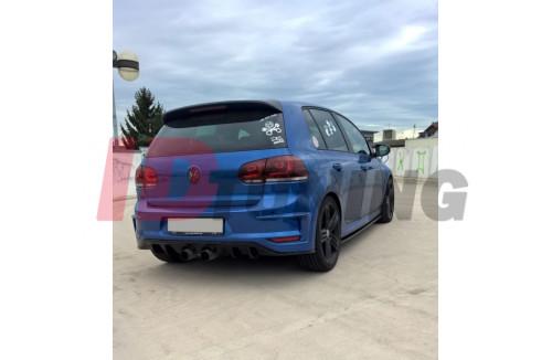 Бампер задний Volkswagen Golf VI (R400 look)