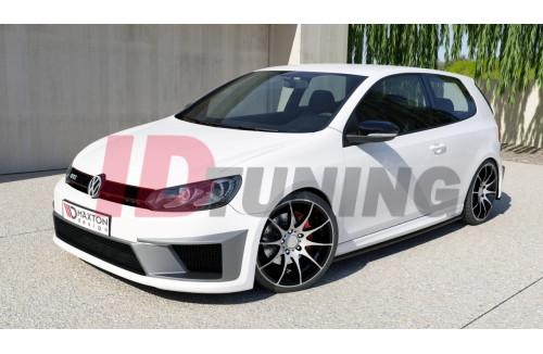 Бампер передний Volkswagen Golf VI (R400 look)