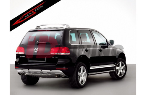 Диффузор бампера заднего Volkswagen Touareg MK1 2002-2006