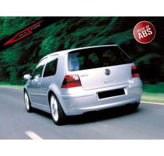 Накладка на бампер задний Volkswagen Golf IV (25'TH ANNIVERSARY look, без отверстия под выхлопную трубу)