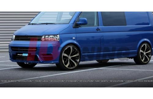 Накладки на пороги Volkswagen T5