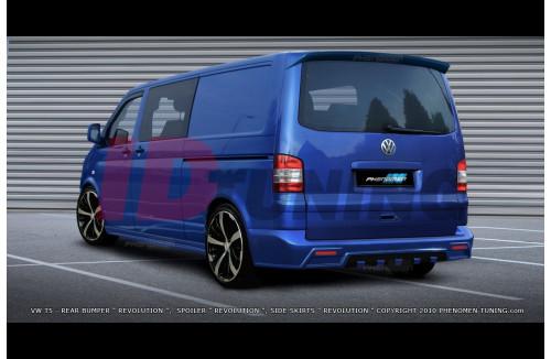 Бампер задний Volkswagen T5