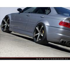 Накладки на пороги BMW 3 E46 Седан вар.1