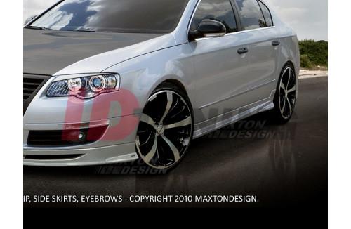 Накладки на пороги Volkswagen Passat B6 3C