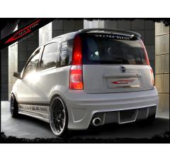 Бампер задний Fiat Panda