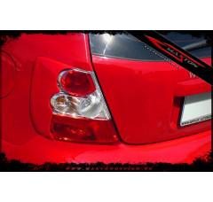 Накладки на фонари задние Honda Civic VII Хэтчбек(3дв)