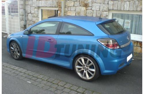 Накладки на пороги Opel Astra H Хэтчбек(3дв)