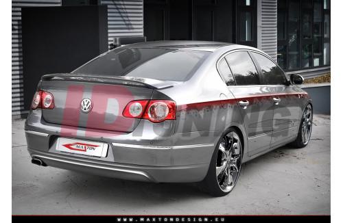 Накладка на бампер задний Volkswagen Passat 3C