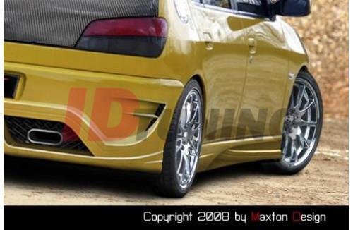 Накладки на пороги Peugeot 306 INFERNO