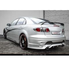 Накладки на пороги Mazda 6