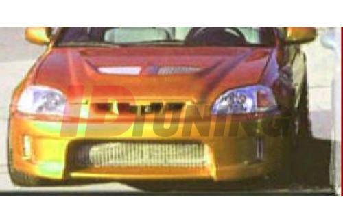 Бампер передний Honda Civic VI Дорестайл вар.3