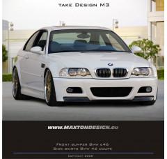 Бампер передний BMW 3 E46 Купе/Кабриолет