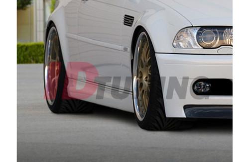 Накладки на пороги BMW 3 E46 Купе/Кабриолет