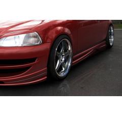 Накладки на пороги Honda Civic VI Хэтчбек INFERNO