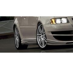 Накладки на пороги Audi A3 INFERNO