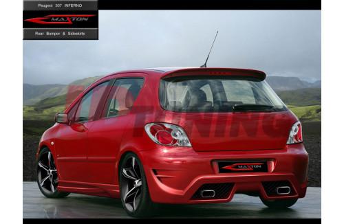 Бампер задний Peugeot 307 Хэтчбек INFERNO
