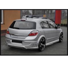 Накладка на бампер задний Opel Astra H Хэтчбек(5дв) TAKE