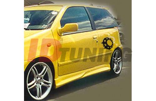 Накладки на пороги Fiat Punto I