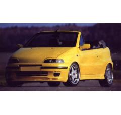 Спойлер на передний бампер Fiat Punto I