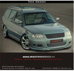 Спойлер на передний бампер Volkswagen Passat 3BG 2001-2006 TAKE