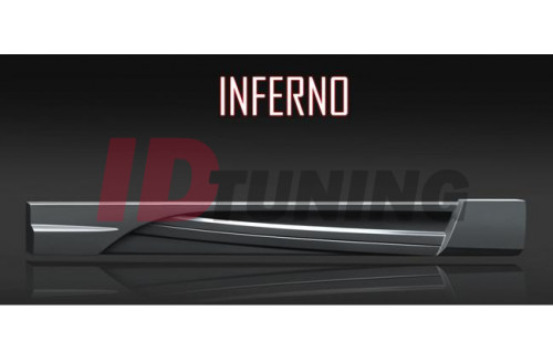 Накладки на пороги Renault 19 INFERNO