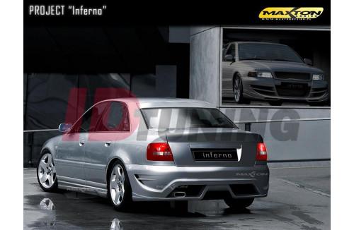 Бампер задний Audi A4 B5 Седан INFERNO