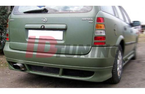 Накладка на бампер задний Opel Astra G Универсал вар.1