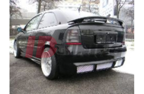 Накладка на бампер задний Opel Astra G Хэтчбек