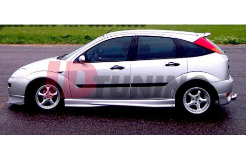 Накладки на пороги Ford Focus I