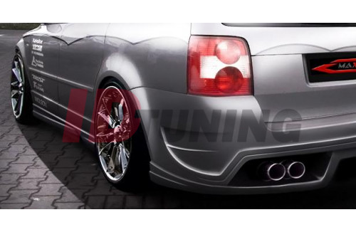 Накладки на пороги Volkswagen Passat 3BG INFERNO