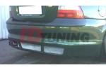 Накладка на бампер задний Opel Vectra B Дорестайл