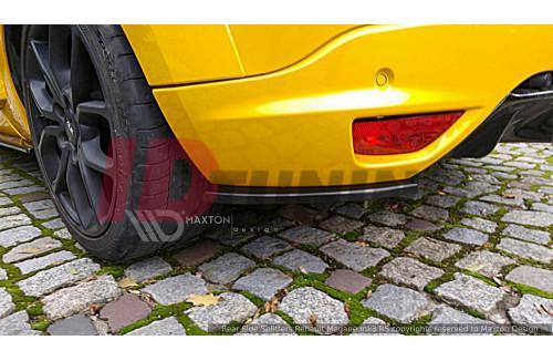 Комплект сплиттеров задних Renault Megane 3 RS